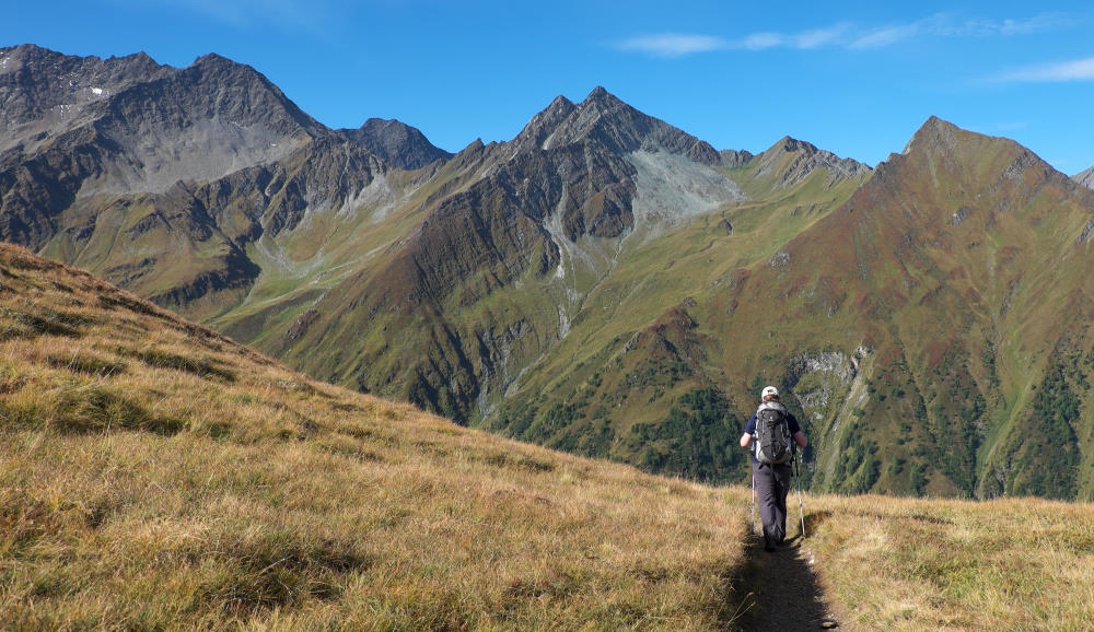 Vivienne Crow Blog - Poles are popular with hikers in the Alps